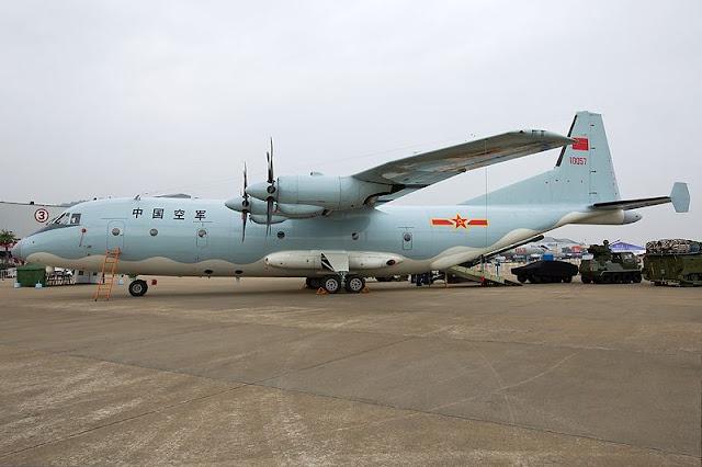 Gambar 43. Foto Pesawat Angkut Militer Shaanxi Y-9