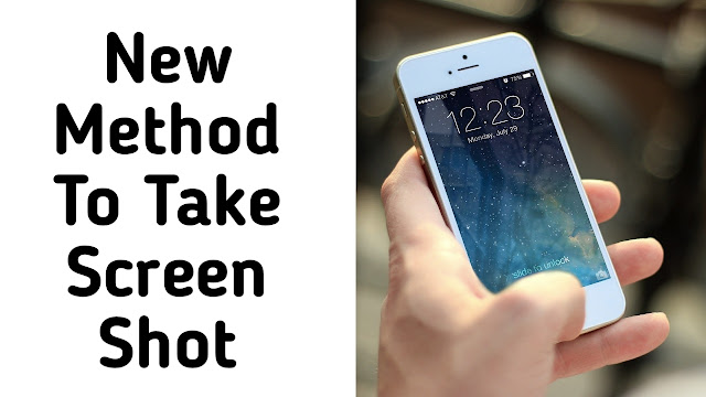 How To Screenshot On Andriod
