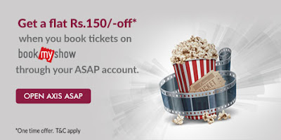 Bookmyshow Axis Bank Offers
