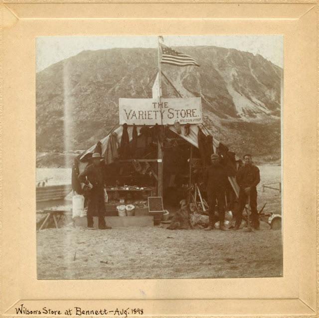 Fotografías de la vida en Alaska a finales del siglo XIX