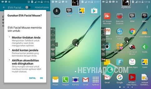 Cara Mengendalikan Android Dengan Wajah