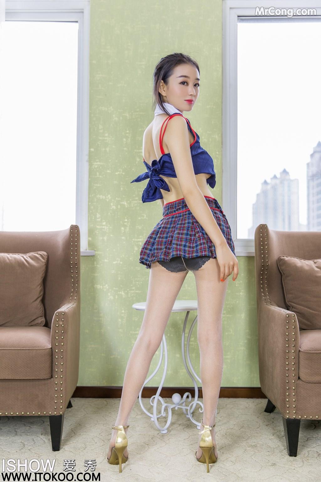 Image ISHOW-No.180-Xiao-Fan-MrCong.com-002 in post ISHOW No.180: Người mẫu Xiao Fan (小凡) (31 ảnh)