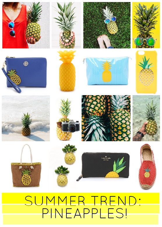 loving pineapples this summer!
