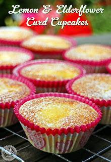 Lemon & Elderflower Curd Cupcakes by Fab Food 4 All, made with ...