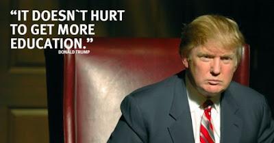 Donald Trump - Education