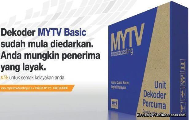 Panduan Semakan Online Nama Penerima Percuma Dekoder MYTV 2016