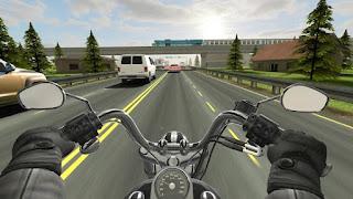 Merupakan sebuah game simulasi realistik dengan tema mengendarai sebuah kendaraan roda dua Unduh Game Android Gratis Traffic Rider apk