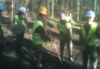 chantier jeunes à la ferté alais