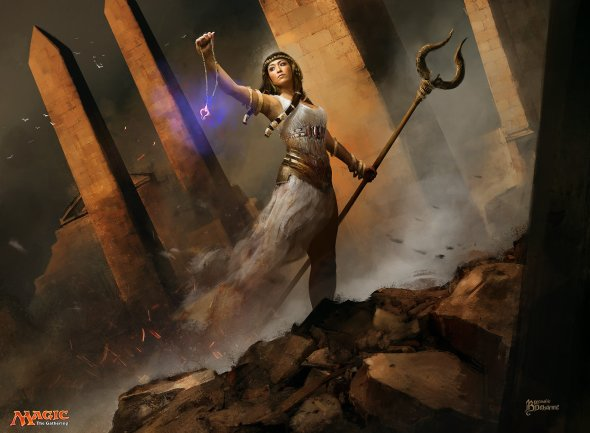 Bastien Lecouffe Deharme artstation arte ilustrações fantasia sombria games magic the gathering