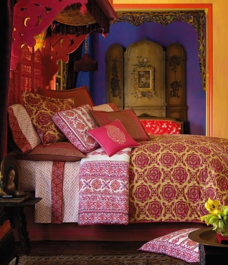 Colorful Bohemian Rooms: Domythic Bliss: Bohemian Style