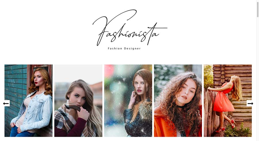Fashionista - Responsive Fashion Blogger Template