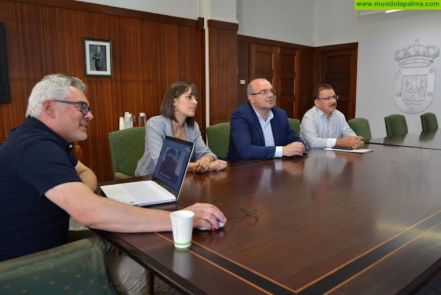 El Cabildo y el Ayuntamiento trabajan en la planificación de próximas actuaciones en Fuencaliente