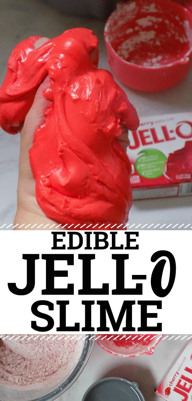 One Savvy Mom Nyc Area Mom Blog Jell O Slime An Edible Taste
