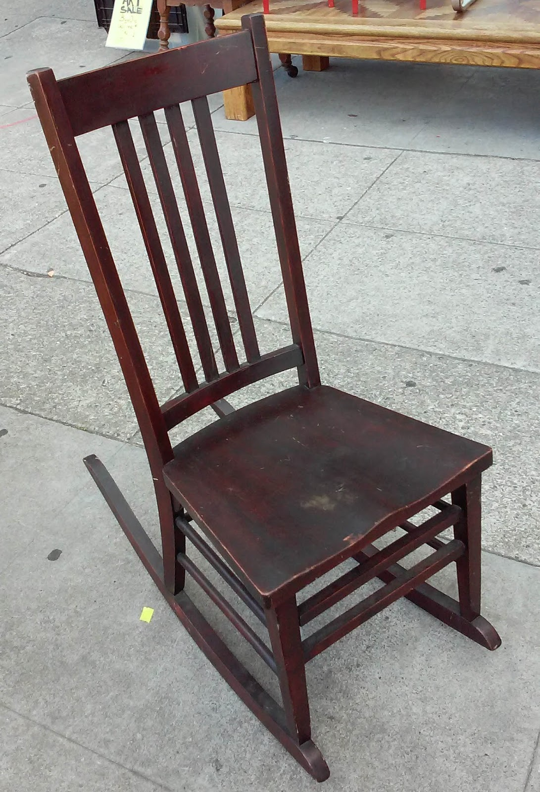 Small Rocking Chair Uhuru Furniture And Collectibles Sold Small Darkwood