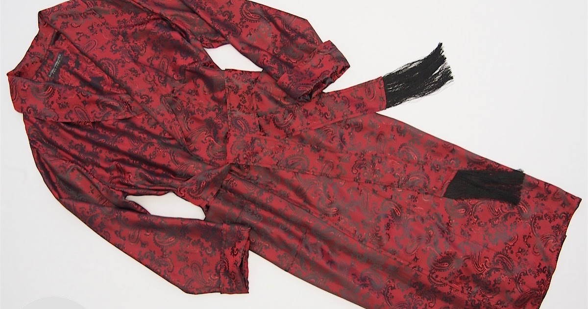 Image result for mens dressing gown silk