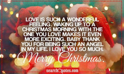 Christmas Quotes About Love Magnificent Merry Christmas Love Quotes