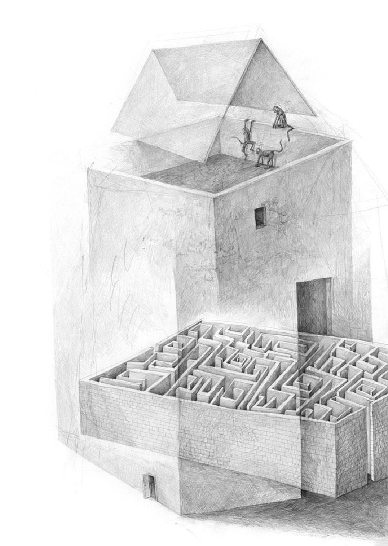 Stefan-Zsaitsits-06 Houses: Drawings by Stefan Zsaitsits Design