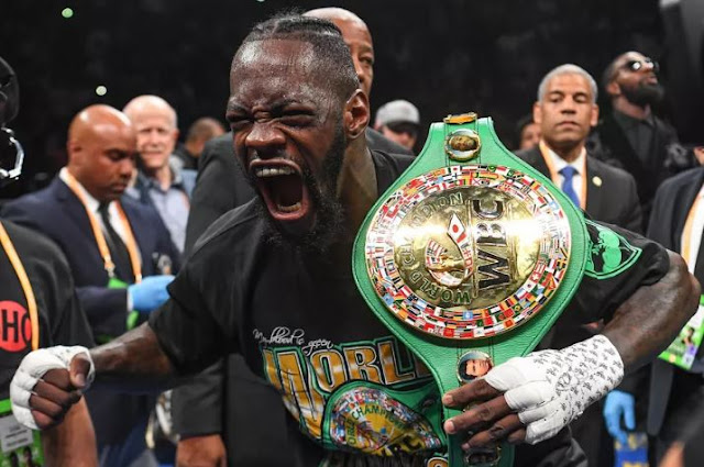 Deontay Wilder Get Vicious First Round KO vs. Dominic Breazeale