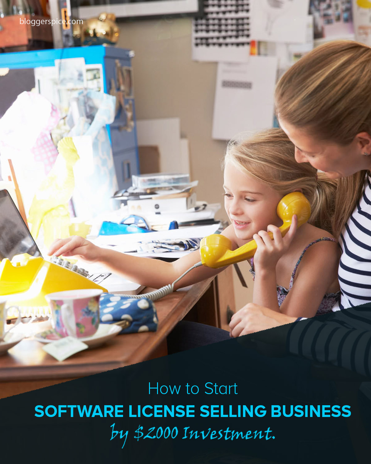 Start bulk software license selling Business by $2000 Investment