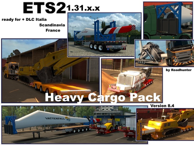 Roadhunter Heavy Load Pack v 8.4