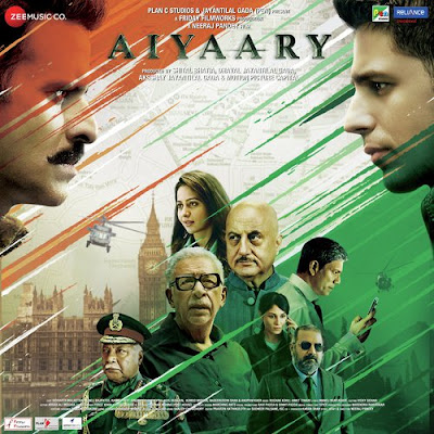 Aiyaary 2018 Hindi 720p DVDRip 1.2Gb x264
