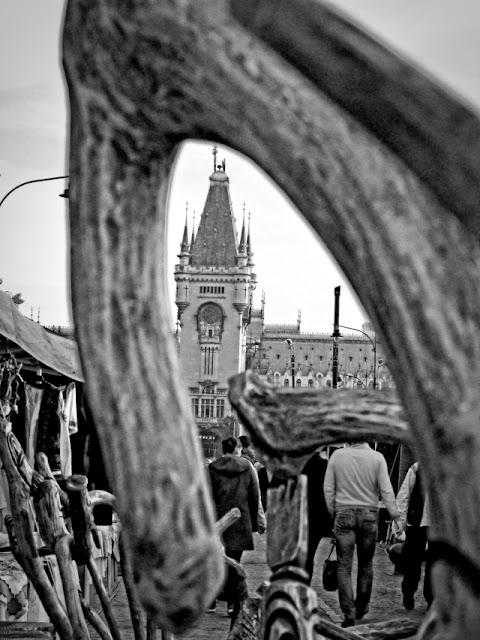 De ce sã nu umpli cadrul realizând si o încadrare (framing) a Palatului Culturii din Iaşi - blog Foto-Ideea