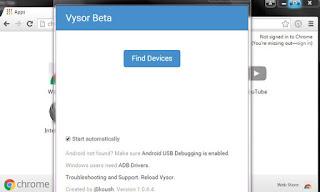 menjalankan-aplikasi-vysor-penampil-layar-android