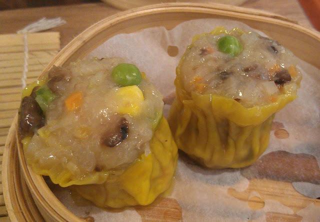 LockCha Teahouse, Hong Kong, vegetable siu mai