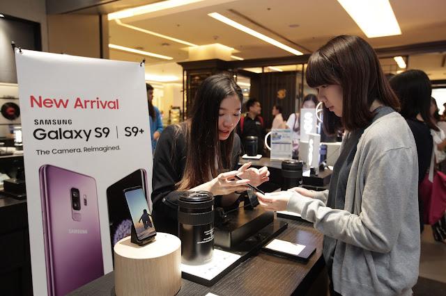 บรรยากาศ Samsung Galaxy S9 / S9+ วันแรกในไทย! สีม่วงมาแรงเกินคาด!
