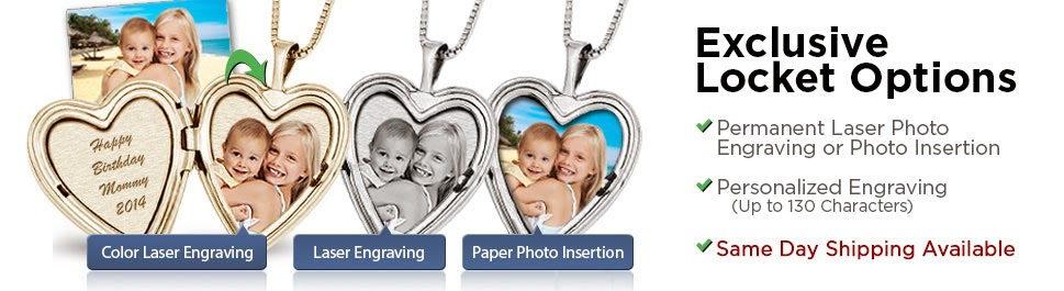 Photo Jewelry and Lockets