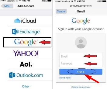 gmail sign in accounts gmail login