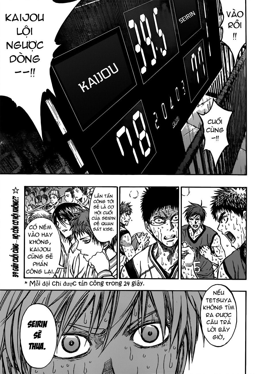 Kuroko No Basket chap 199 trang 19