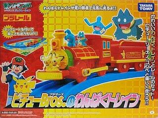 takara Tomy Plarail Pichu Bros's Naughty Train