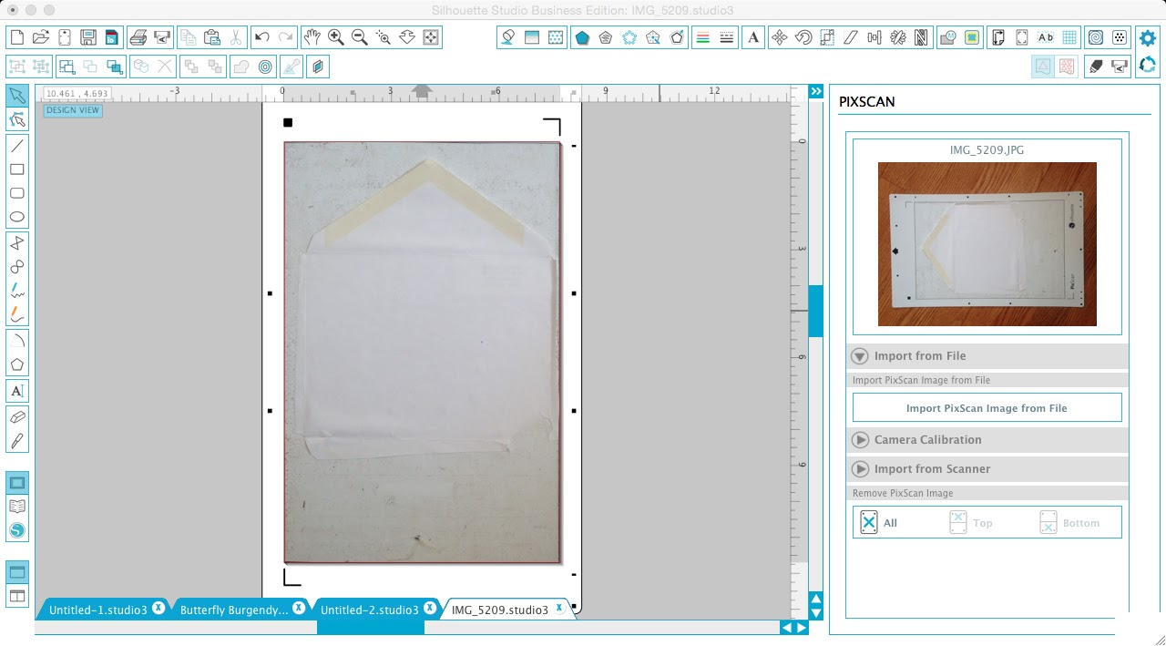 How to Make an Envelope Liner Template with Silhouette Studio and ...
