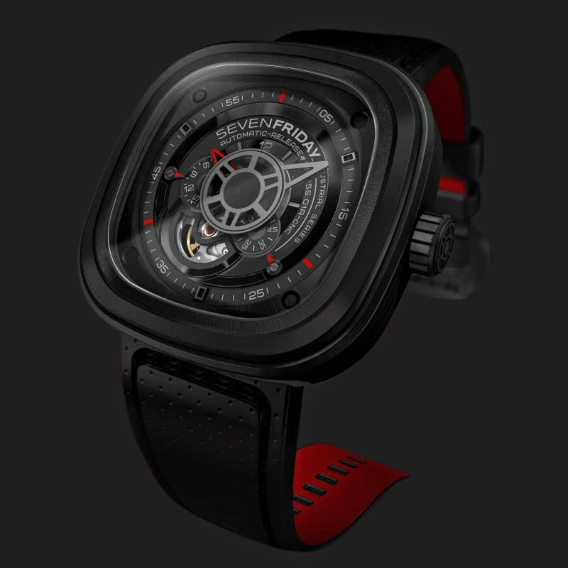 SEVENFRIDAY P3-1 Black - Industrial Engines