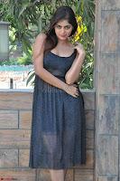 Pragya Nayan New Fresh Telugu Actress Stunning Transparent Black Deep neck Dress ~  Exclusive Galleries 034.jpg