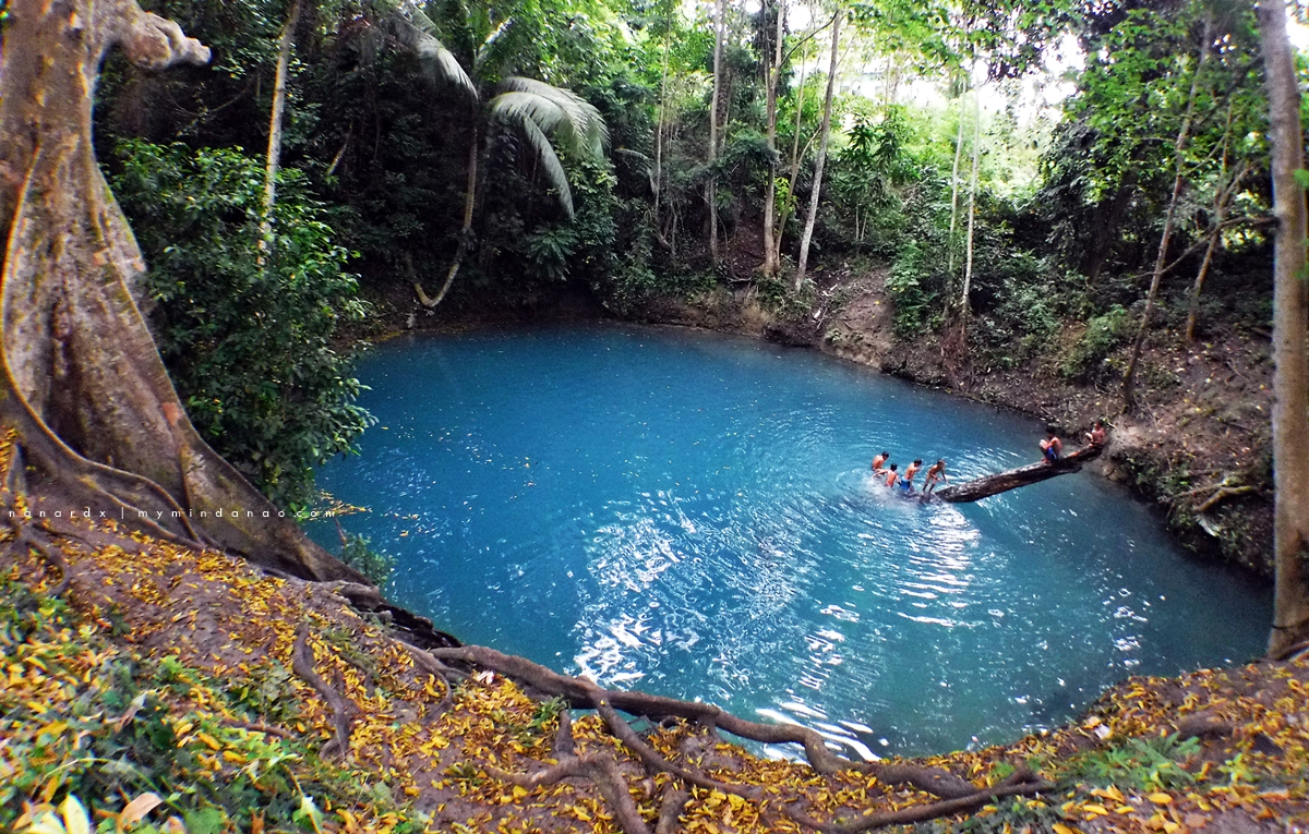 Blue Lagoon in Datu Odin Sinsuat
