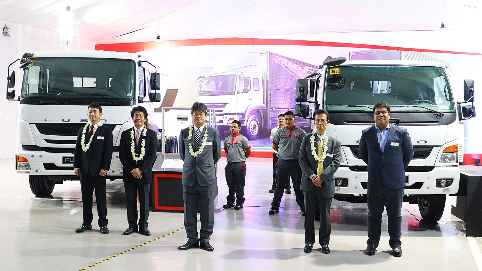 MMPC officially unveils the FUSO FI and FJ models