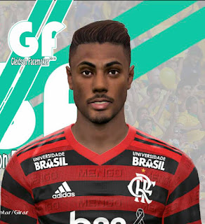 PES 2017 Faces Bruno Henrique by Gleidson
