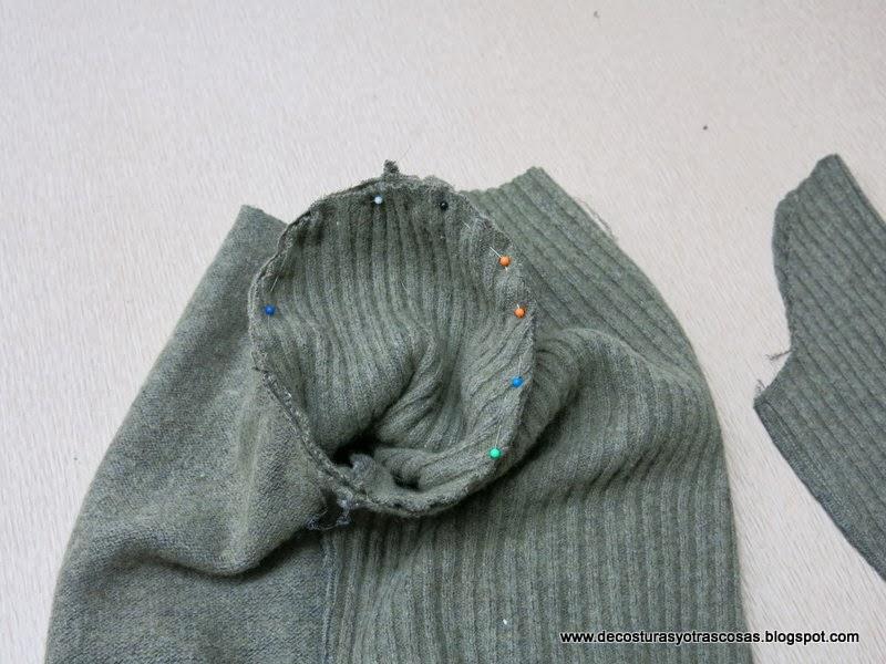 como-coser-manga-sueter