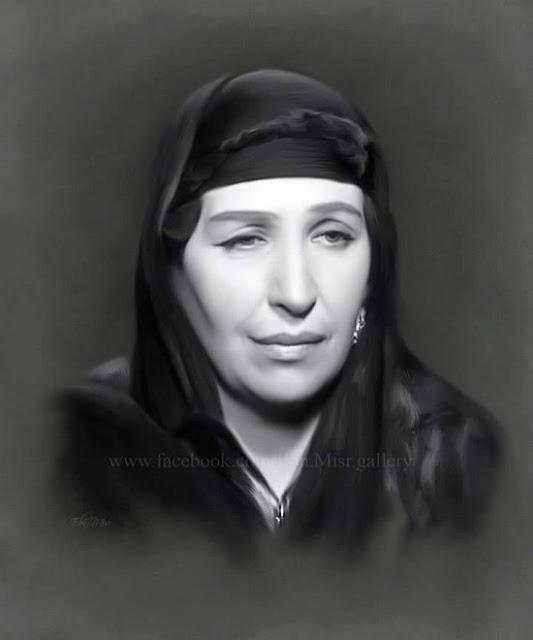صور ورسومات بالرصاص ولوحات زيتية ل امينة رزق