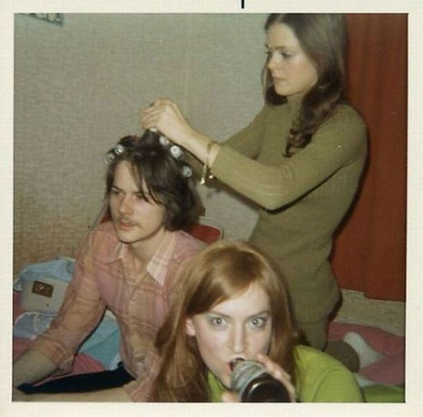 Students Home Party, 1960s, New York