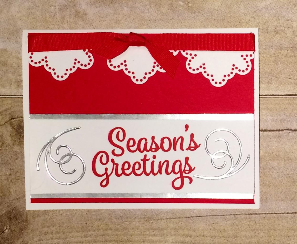 Kards By Kadie Season Greeting Card