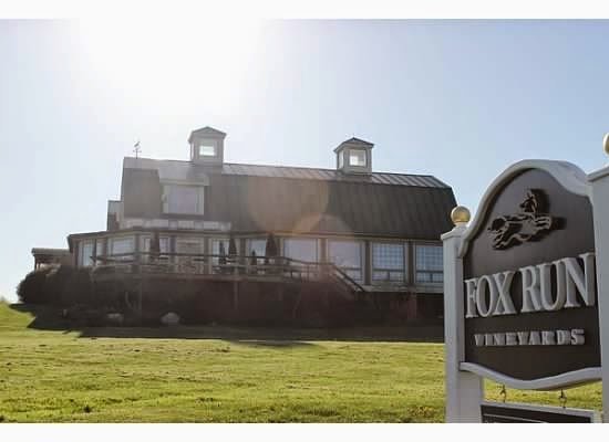 Fox Run Vineyards Finger Lakes