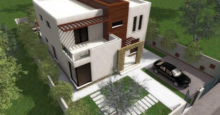Casa moderna de 2 pisos proyectos de casas for Fachadas casas 2 pisos modernas