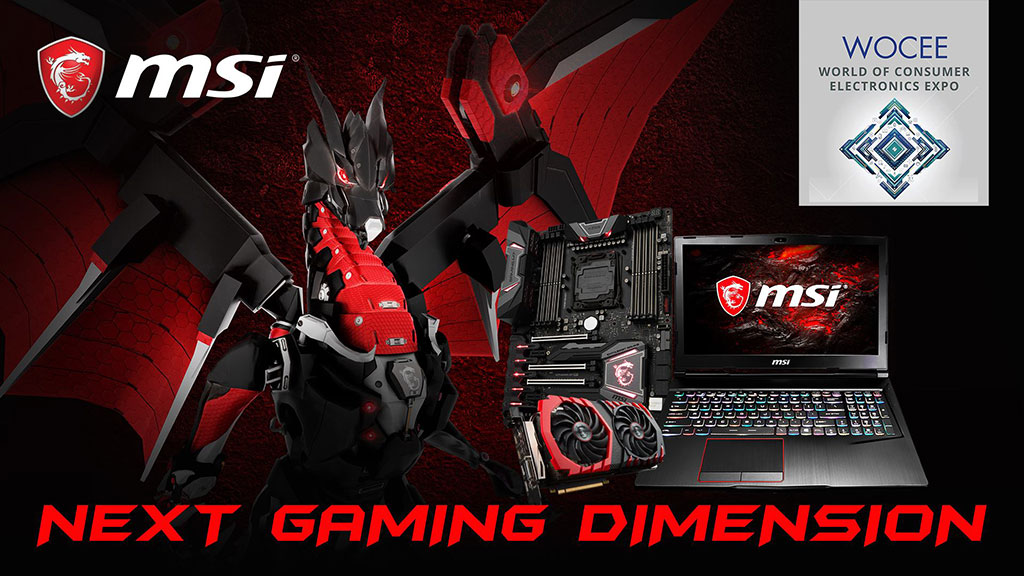 MSI Philippines Joins the World of Consumer Electronics Expo