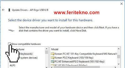 mengatasi keyboard laptop yang error 6