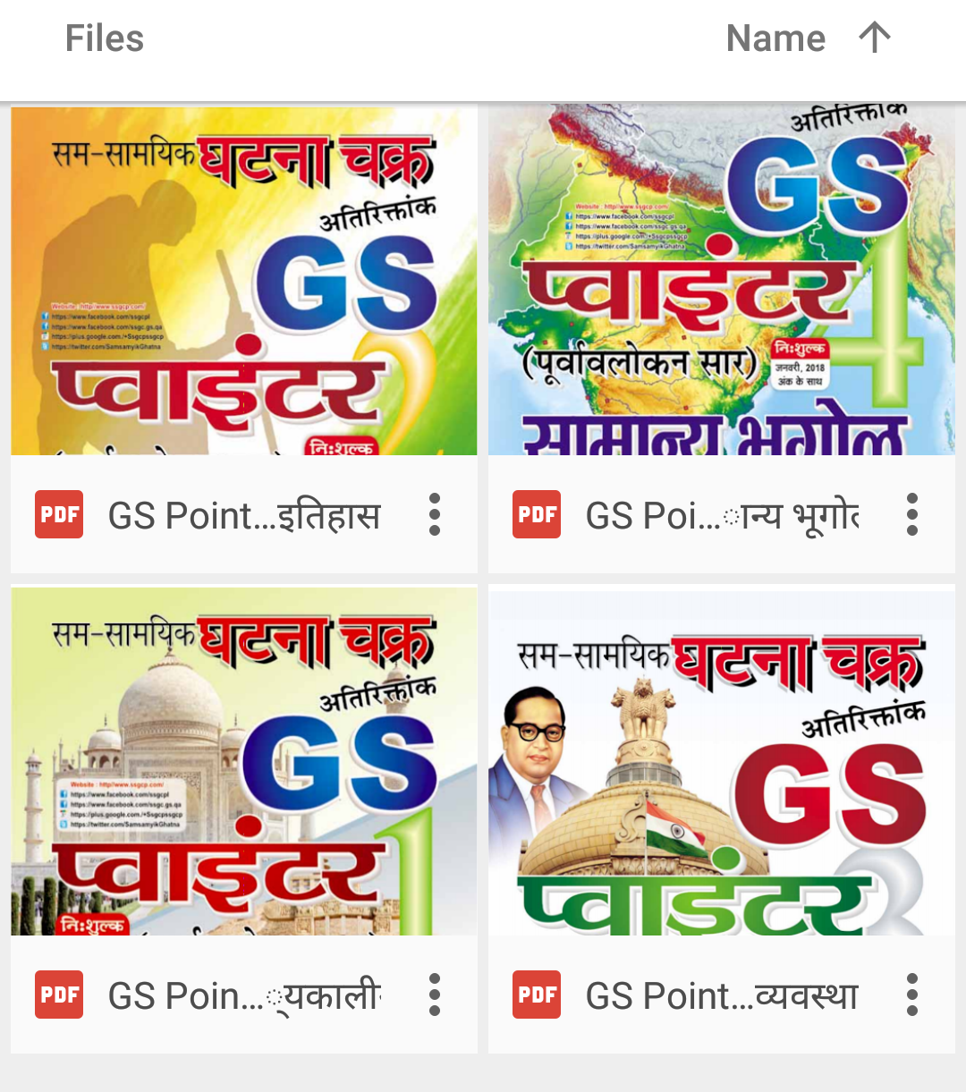 Ghatna Chakra GS Pointer PDF Download (All Subjects