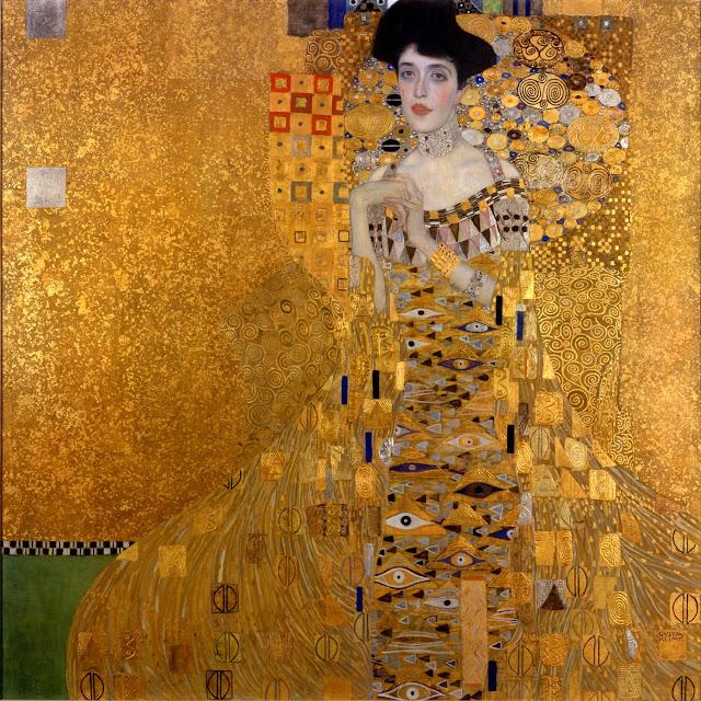 アデーレ・ブロッホ=バウアーの肖像 I 1907年 クリムト、官能と黄金の画家とは?クリムトの見ておきたい絵画14選【a】
