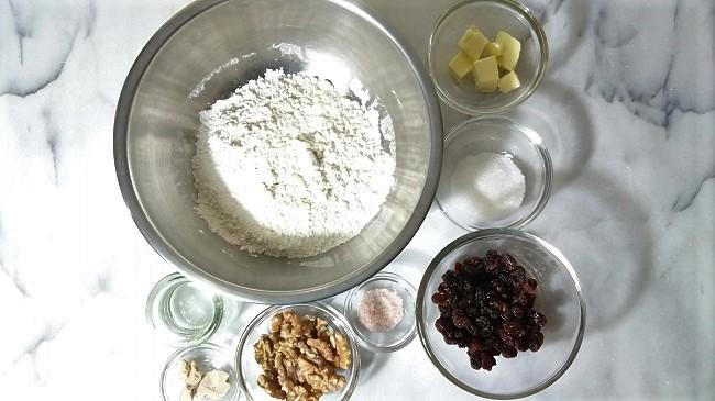 製作歐式麵包的材料